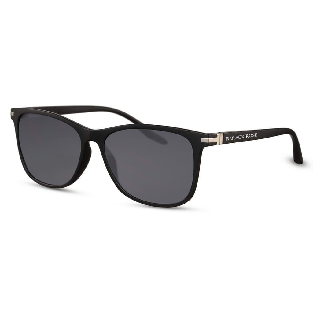 ανδρικά γυαλιά ηλίου, αντρικά μαύρα γυαλιά ηλίου με ασημί λεπτομέρειες, sunglasses for men wayfarer, denver-black rose sunglasses