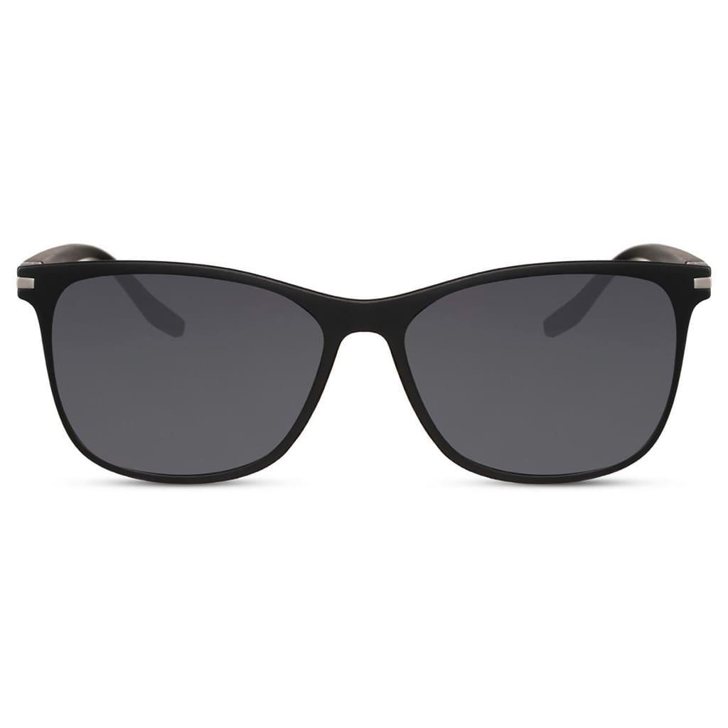 ανδρικά γυαλιά ηλίου, μαύρα γυαλιά ηλίου για άντρες με ασημί λεπτομέρειες, sunglasses for men wayfarer, denver-black rose sunglasses