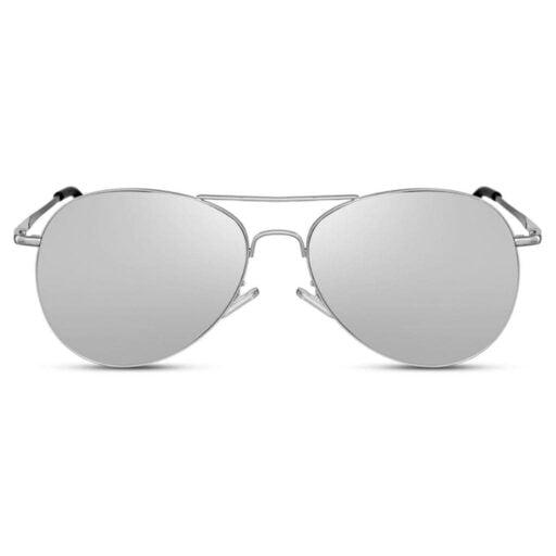 γυαλιά ηλίου καθρέφτης, ασημί γυαλιά ηλίου με καθρέφτη, ανδρικά-γυναικεία γυαλιά ηλίου, aviator cosmopolitan silver-black rose