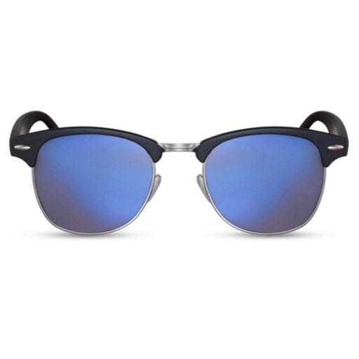 clubmaster γιαλιά ηλίου, browline γυαλιά ηλίου unisex, γυναικεία clubmaster, ανδρικά browline, μαύρα με μπλε φακό γιαλιά ηλίου, ρετρό γυαλιά ηλίου blue lover-black rose