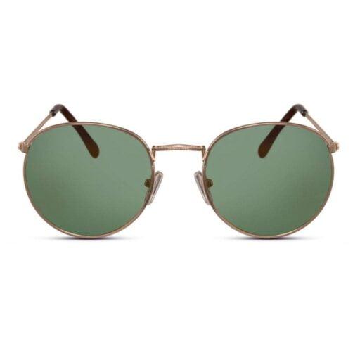 γυαλιά ηλίου πράσινα , γυαλιά ηλίου με πράσινο φακό, χρυσά μεταλλικά γυαλιά ηλίου γυναικεία- ανδρικά ημι-στρογγυλά, green yolo-black rose