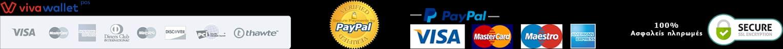 paypal, visa, viva wallet, πληρωμή με pos, 100% ασφαλείς πληρωμές online στο ηλεκτρονικό κατάστημα black rose με γυαλιά ηλίου