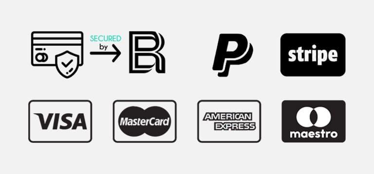 αγορά γυαλιών ηλίου μέσω paypal, stripe, κάρτας visa ή με αντικαταβολή, ασφαλείς πληρωμές black rose sunglasses
