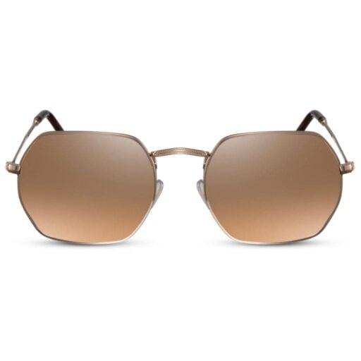 γυαλιά ηλίου χρυσός καθρέφτης, γυαλιά ηλίου πολυγωνικά, χρυσά γυναικεία γυαλιά ηλίου-ανδρικά γυαλιά, gold shadow-black rose