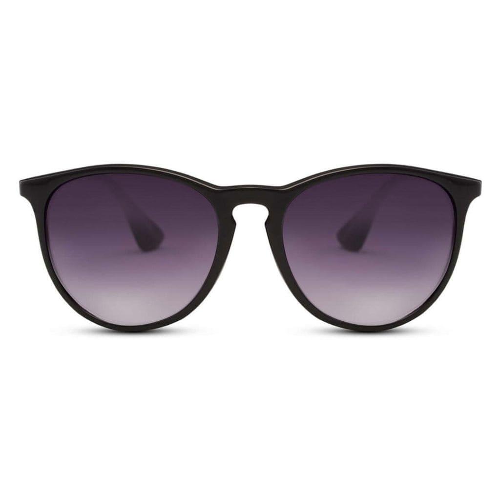 γυαλιά ηλίου μαύρα, στρογγυλά γυναικεία γυαλιά ηλίου - αντρικά γυαλιά ηλίου με smoke φακό, black passion-black rose sunglasses