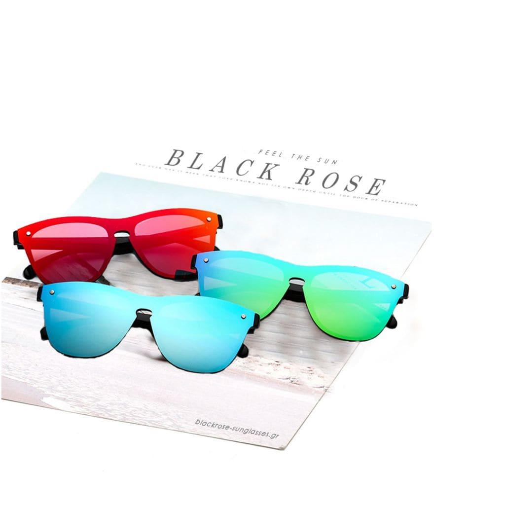 Wayfarer γυαλιά, γυαλιά ηλίου wayfarer, γυαλιά ηλίου με καθρέφτη, wayfarer sunglasses, wayfarer γυναικεία, wayfarer ανδρικά, unisex γυαλιά wayfarer Fire-Black Rose