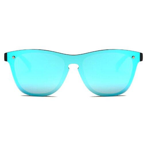 γυαλιά ηλίου μπλε, μεγάλα wayfarer γυναικεία-ανδρικά γυαλιά ηλίου με μπλε καθρέφτη χωρίς σκελετό mirror sunglasses blue fire