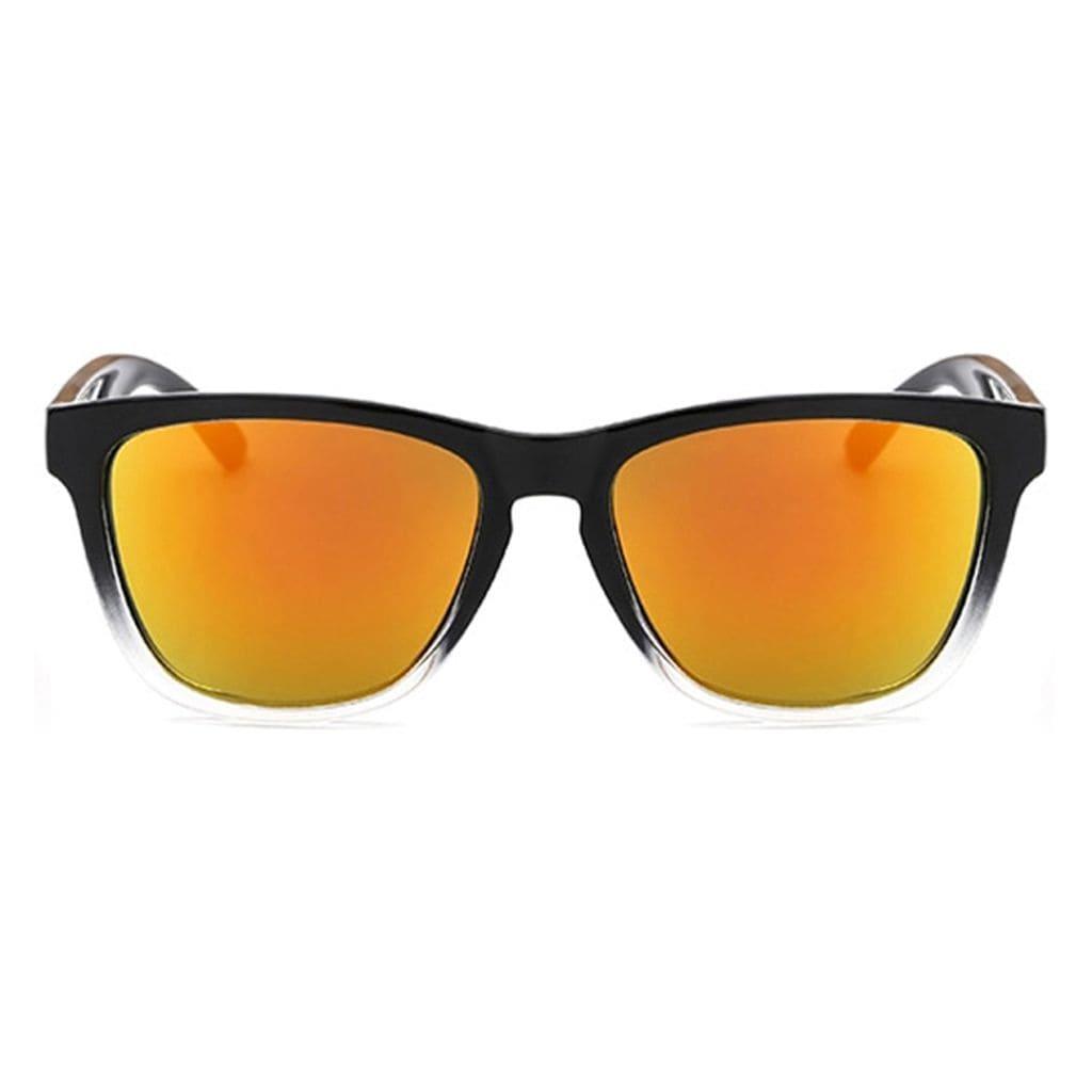 wayfarer γυαλιά, μαύρα γυαλιά ηλίου wayfarer, γυαλιά ηλίου καθρέφτης πορτοκαλής, wayfarer γυναικεία, wayfarer ανδρικά, unisex wayfarer sunglasses, orange spectrum-black rose
